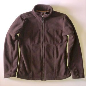 Patagonia Synchilla Brown Fleece Ribbed